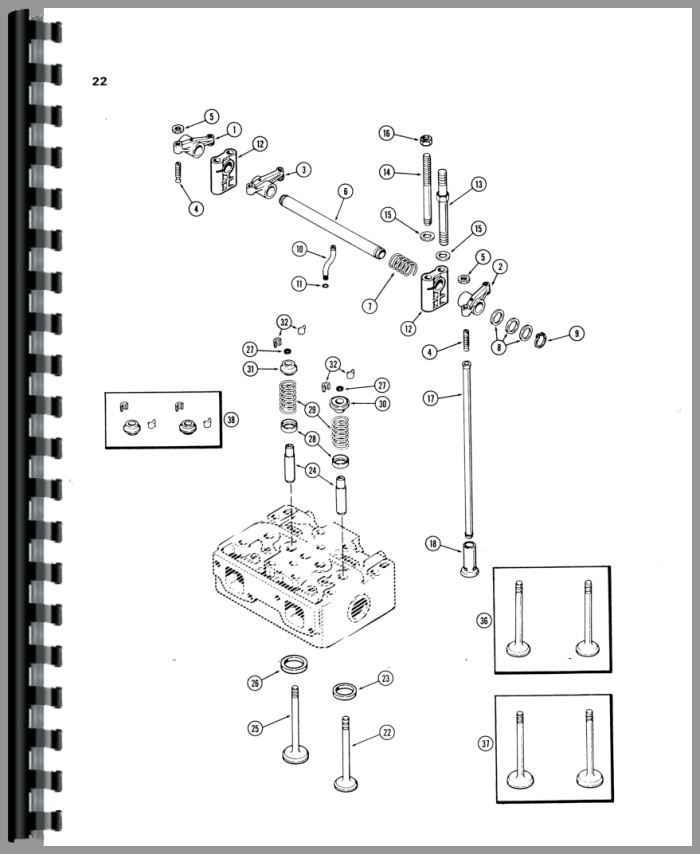 Case W14 Wheel Loader Parts Manual