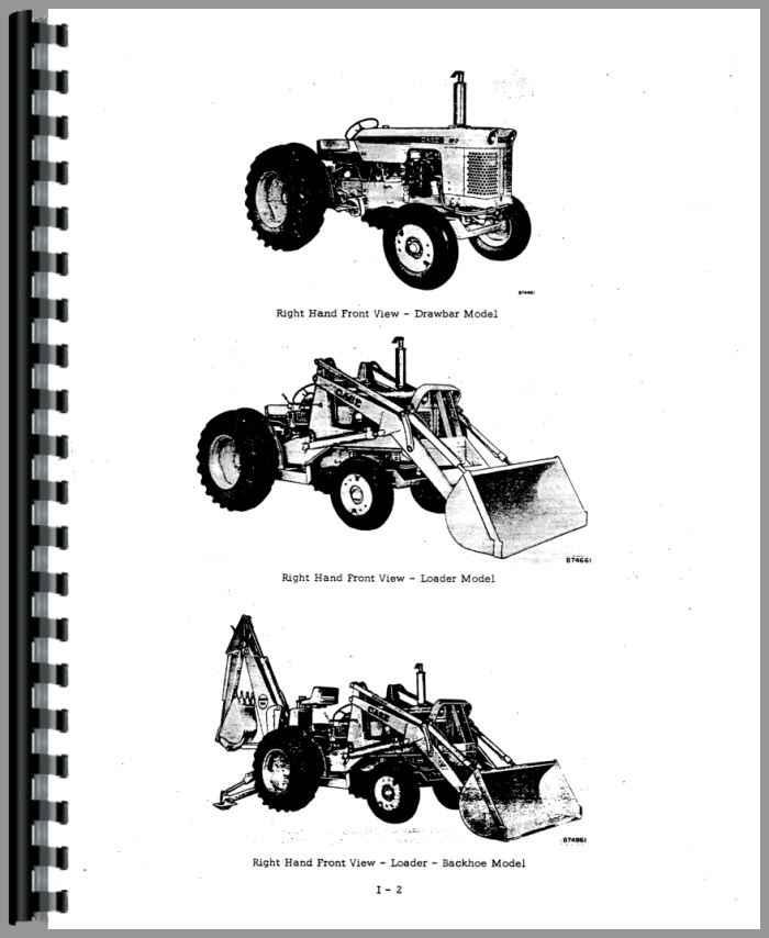Case W3 Tractor Loader Backhoe Service Manual