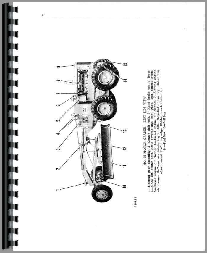 Caterpillar Motor Grader Wiring Schematics Caterpillar