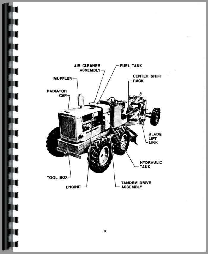 Caterpillar 12F Grader Operators Manual