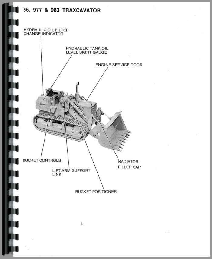 Caterpillar 955K Traxcavator Operators Manual