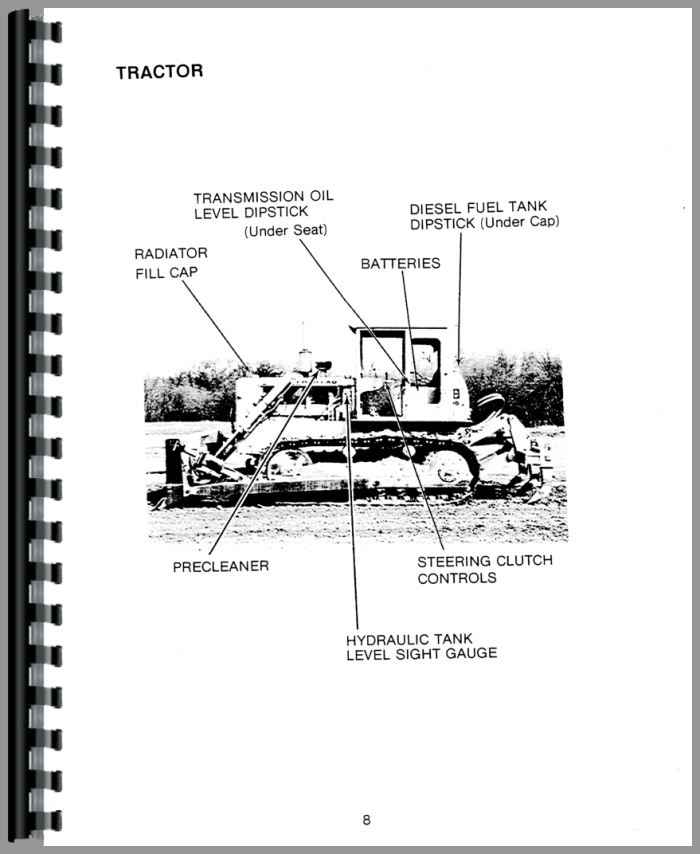 Caterpillar D5 Crawler Operators Manual