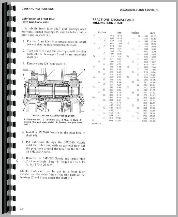 Caterpillar D5 Crawler Service Manual