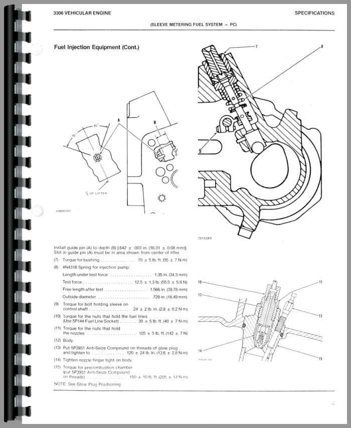 Caterpillar D5B Crawler Service Manual