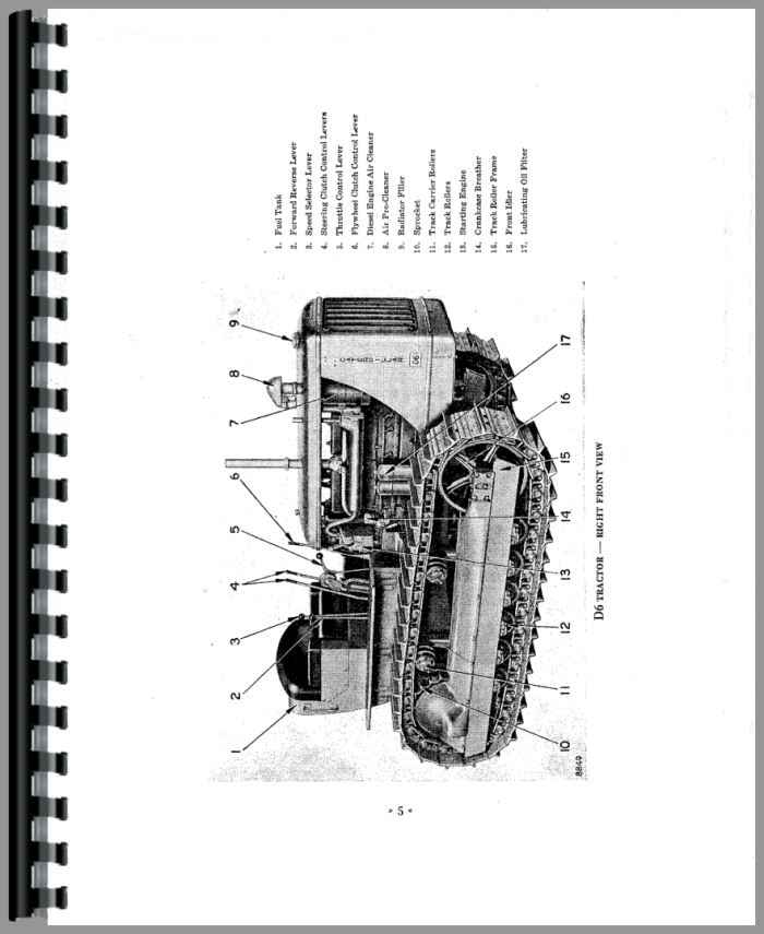 Caterpillar D6 Crawler Service Manual