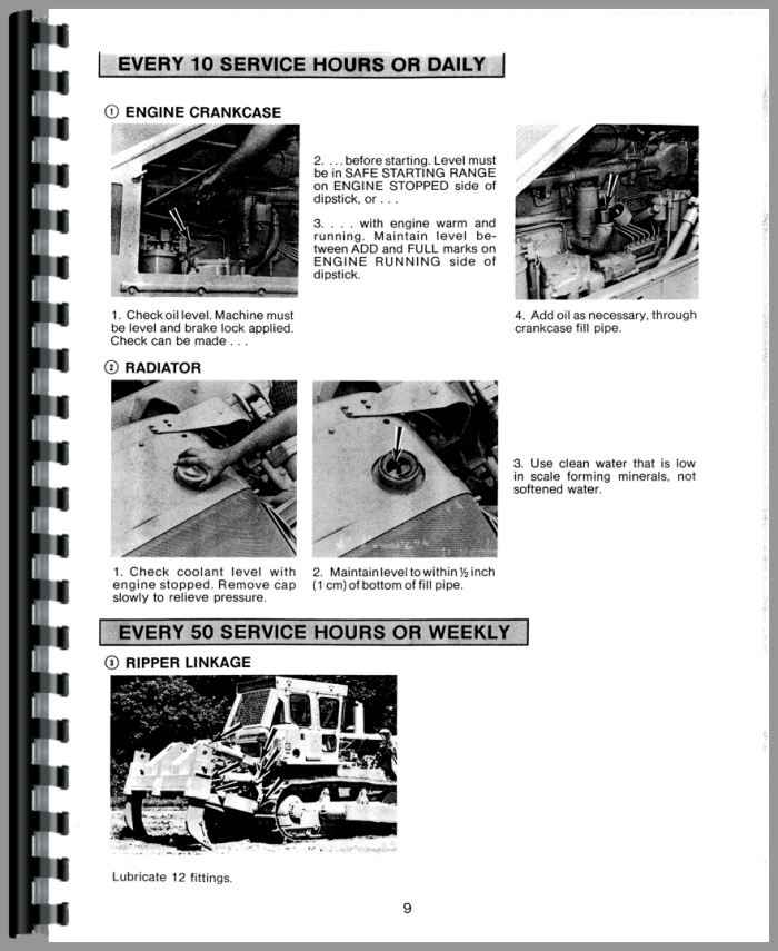 Caterpillar D8K Crawler Operators Manual