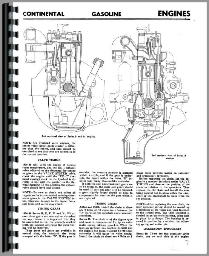 Continental Engines E-600-603 Engine Service Manual