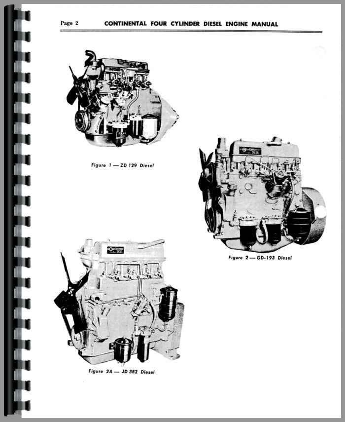 Tractors Continental Engines G-193 Engine Service Manual