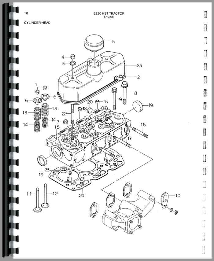 Deutz 5220 Tractor Parts Manual
