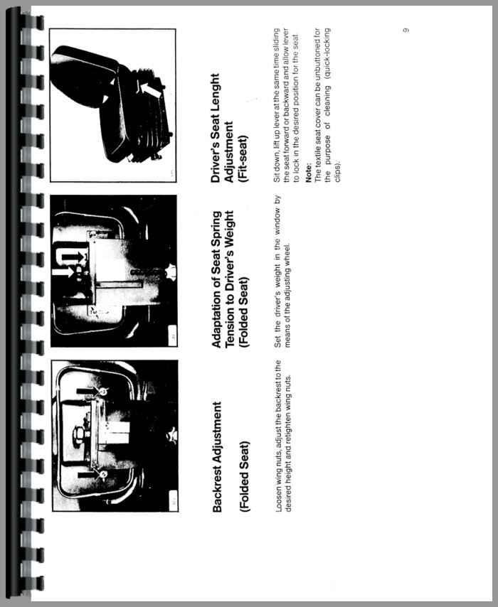 Deutz 6240 Tractor Operators Manual