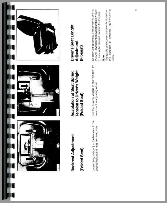 Deutz 6265 Tractor Operators Manual