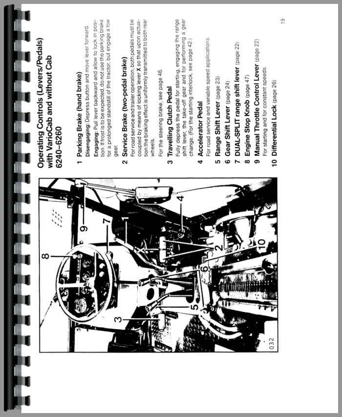 Deutz 6275 Tractor Operators Manual