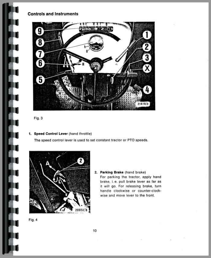 Deutz D6806 Tractor Operators Manual