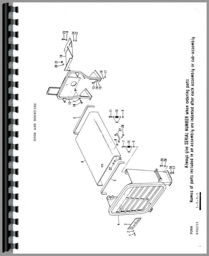 Euclid 201 TD Truck Parts Manual