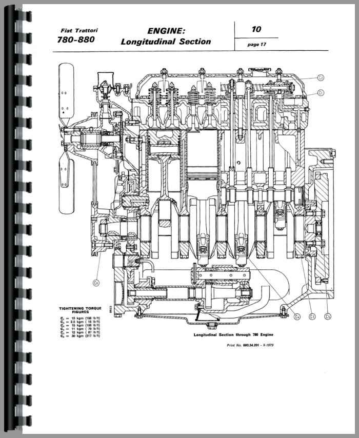 Fiat 780 Tractor Service Manual