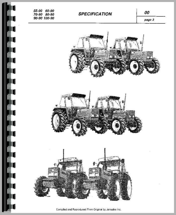 Fiat 90-90 Tractor Service Manual