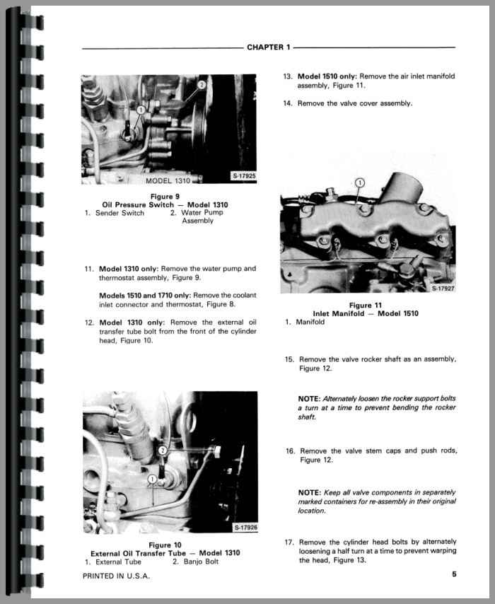 Ford 1510 Tractor Service Manual