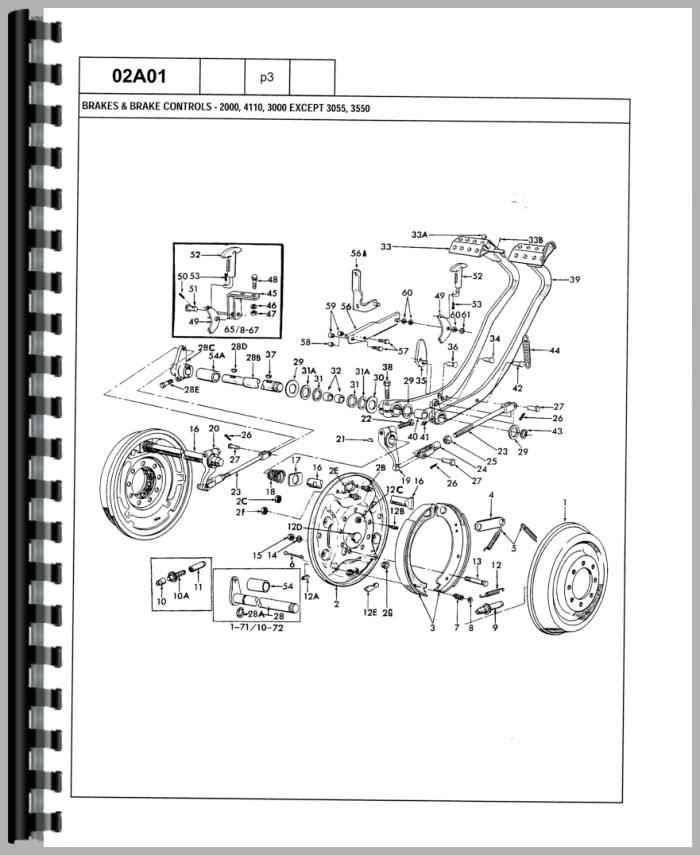 ford 4000 wiring diagram 3 cylinder diesel