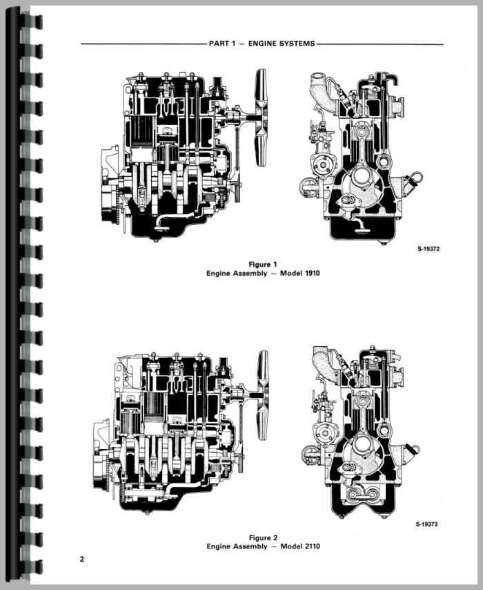 Ford 2110 Tractor Service Manual