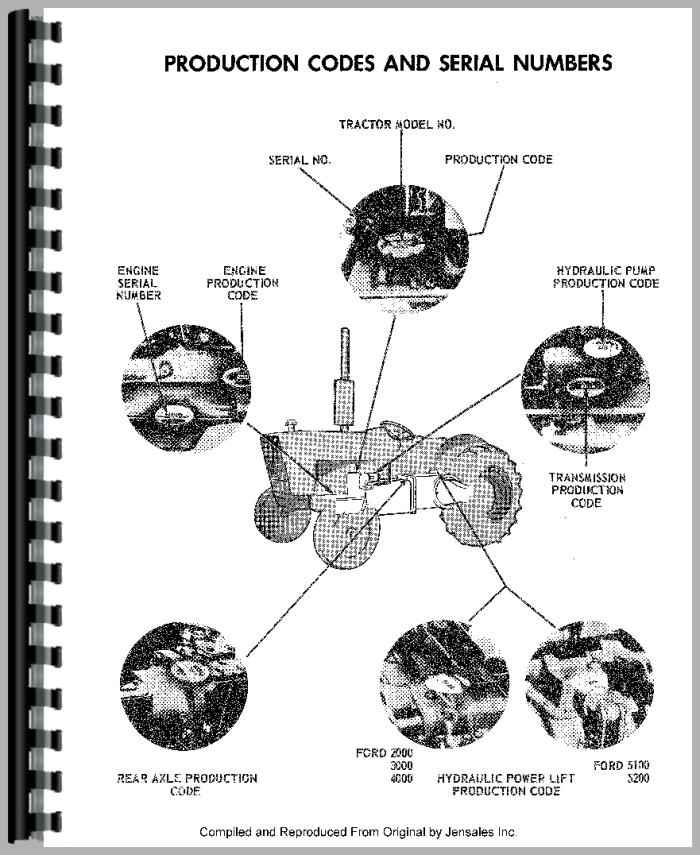 Ford 2120 Tractor Service Manual
