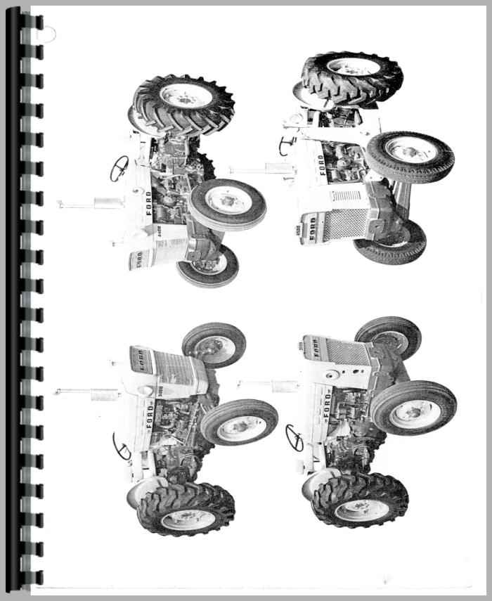 Ford 3550 Industrial Tractor Operators Manual