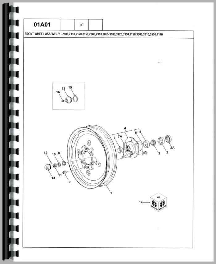 ford 4000 tractor wiring diagram trailer brake controller 4500 industrial parts manual