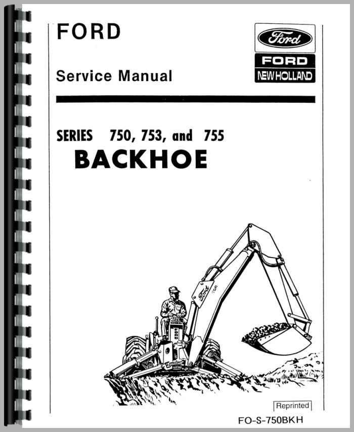 Ford 5500 backhoe manual