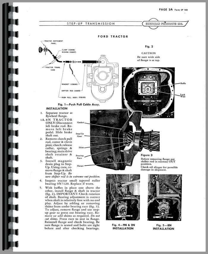 1948 ford 8n power steering 4 tractorshedcom