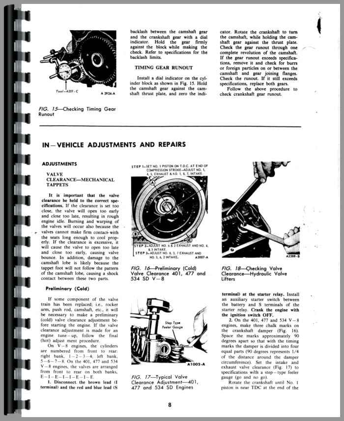 Ford 300 Engine Service Manual