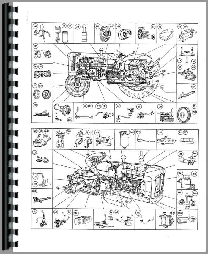 Ford New Major Tractor Parts Manual