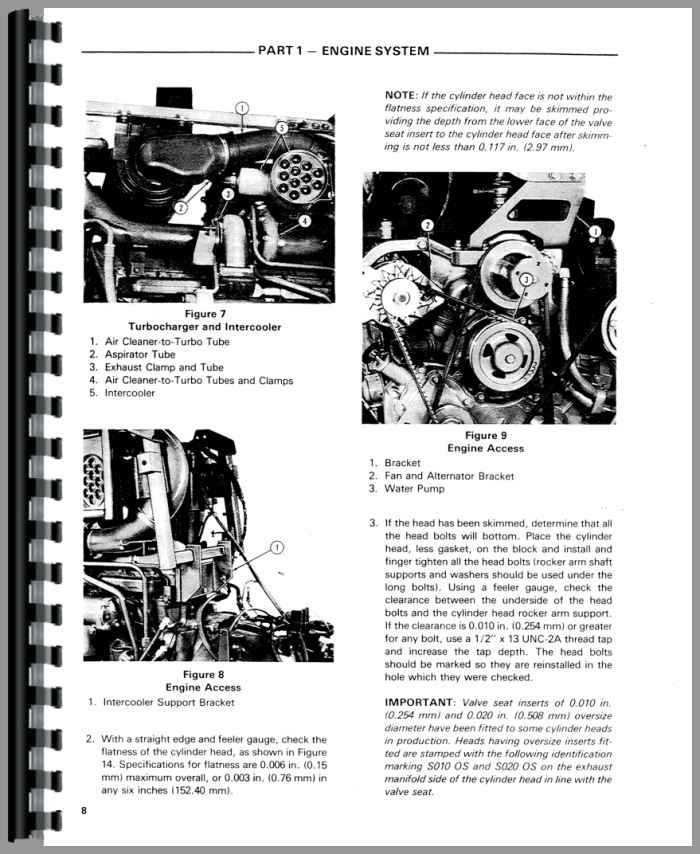 Ford TW 30 Tractor Service Manual