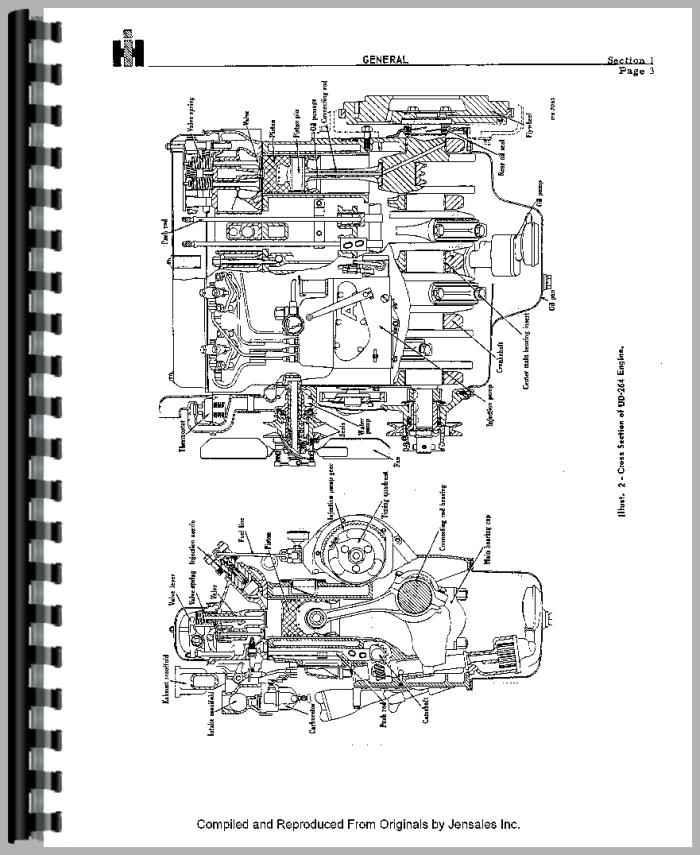Galion 303 Grader IH Engine Service Manual