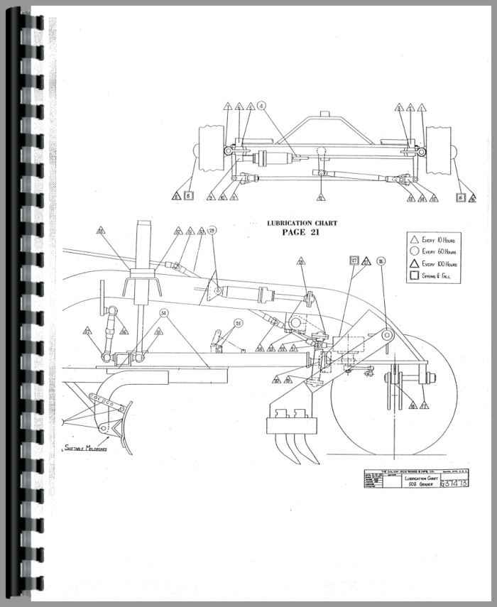 Galion 503 grader Service Manual