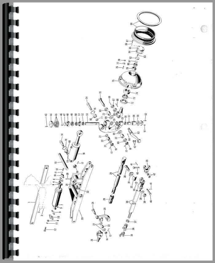 Galion T-500 Grader Parts Manual