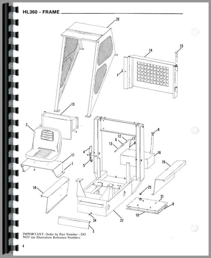Gehl HL360 Skid Steer Loader Parts Manual