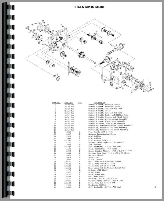Gravely 8163T Lawn & Garden Tractor Parts Manual