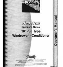 hesston pt 7 pt 10 pt 12 mower conditioner operators manual hthe sopt10  [ 897 x 1280 Pixel ]