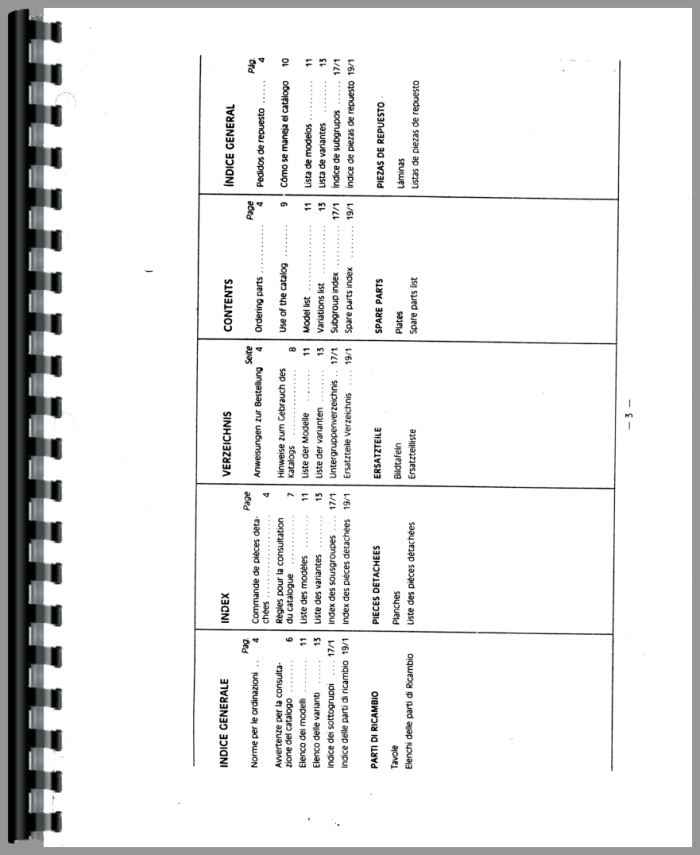 Hesston 55-66DT Tractor Parts Manual
