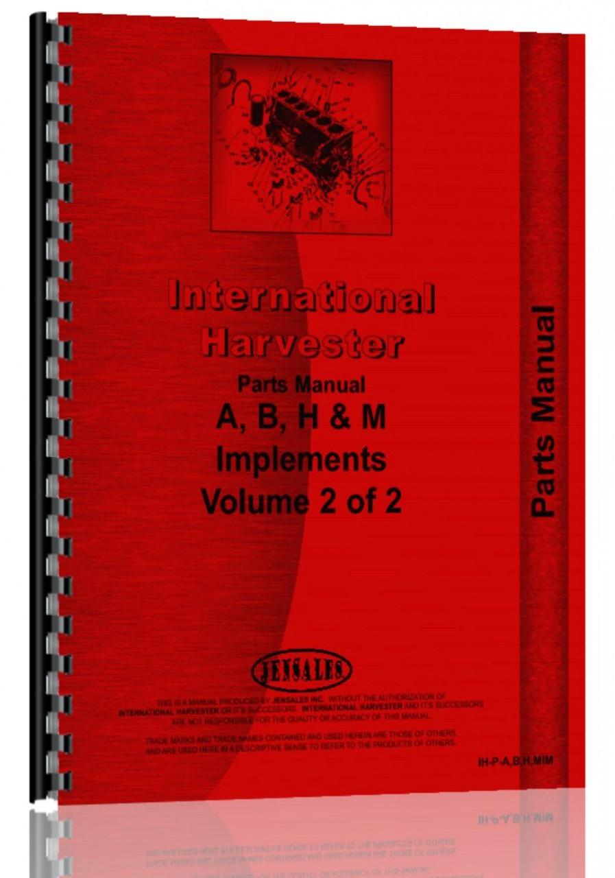 hight resolution of farmall m tractor implement attachments parts manual farmall m parts manual pdf farmall m parts diagram