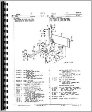International Harvester 1086 Tractor Parts Manual