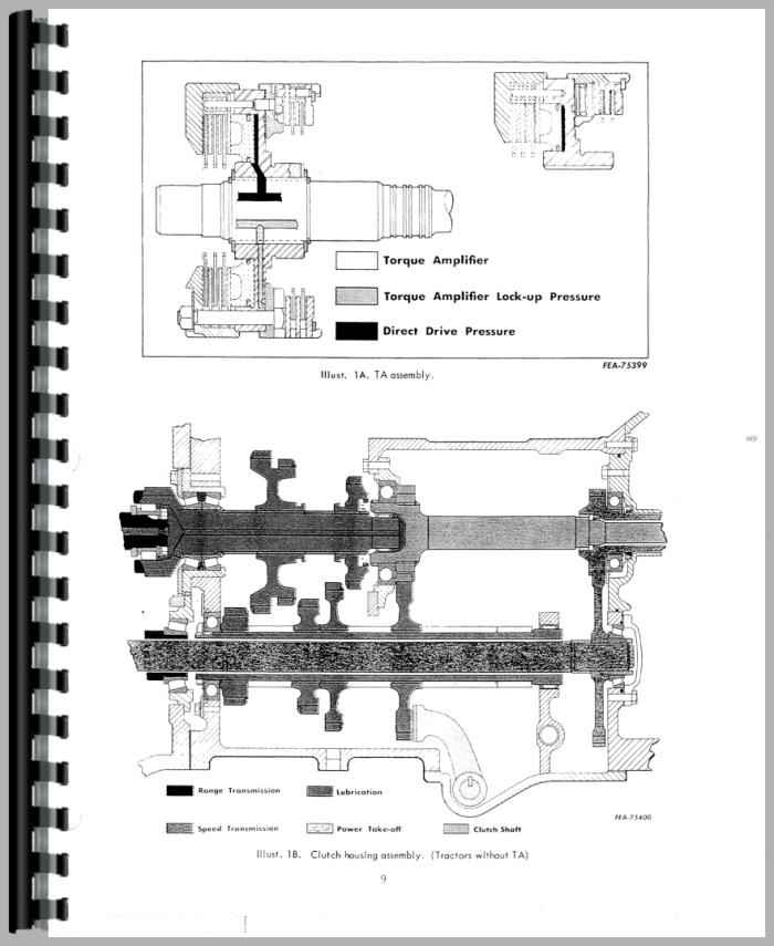 International Harvester 2756 Industrial Tractor Service Manual