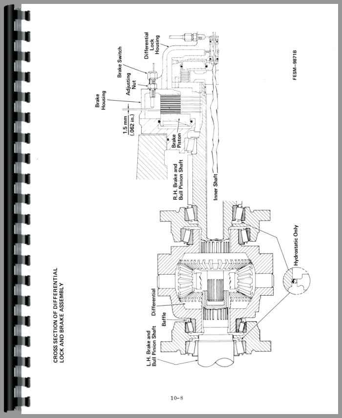 International Harvester 3088 Tractor Service Manual