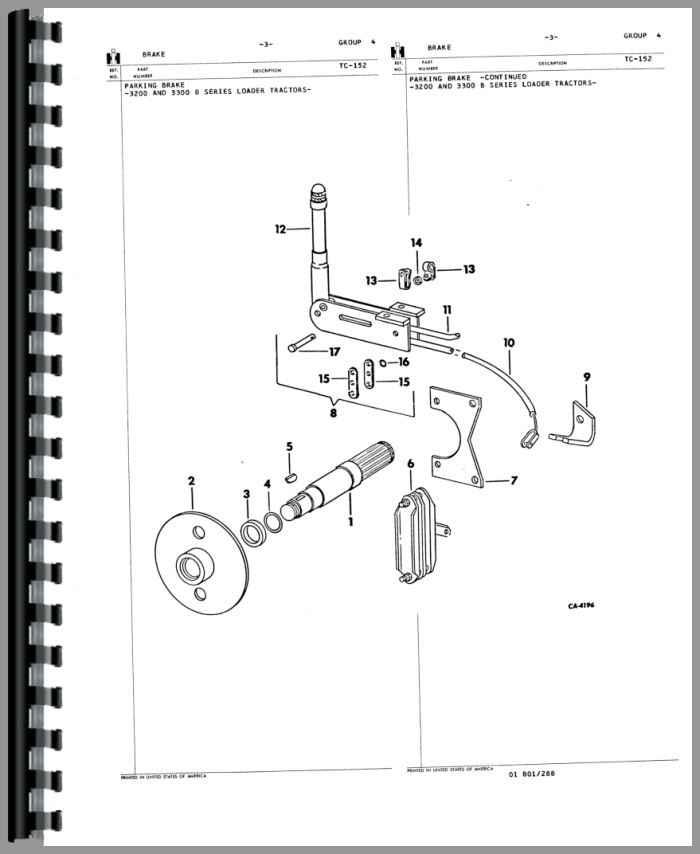 International Harvester 3200A Skid Steer Parts Manual