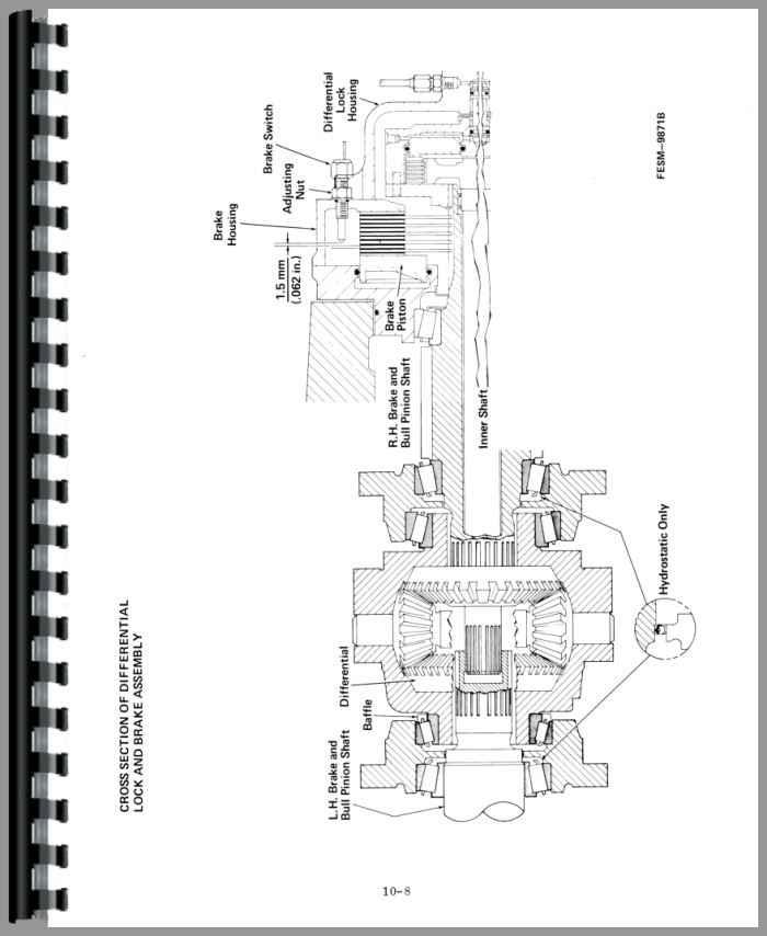 International Harvester 3688 Tractor Service Manual