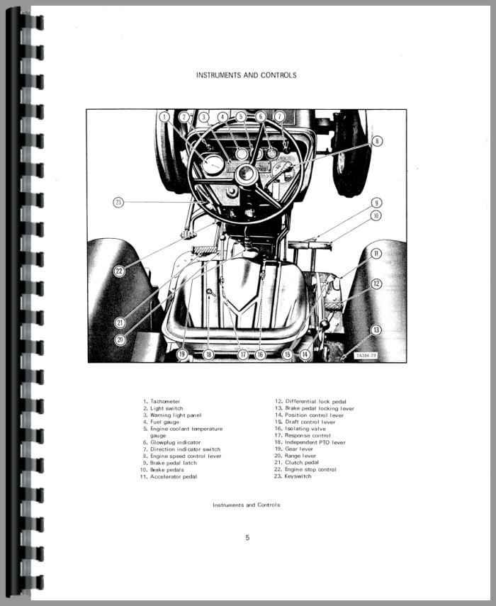 International Harvester 384 Tractor Operators Manual