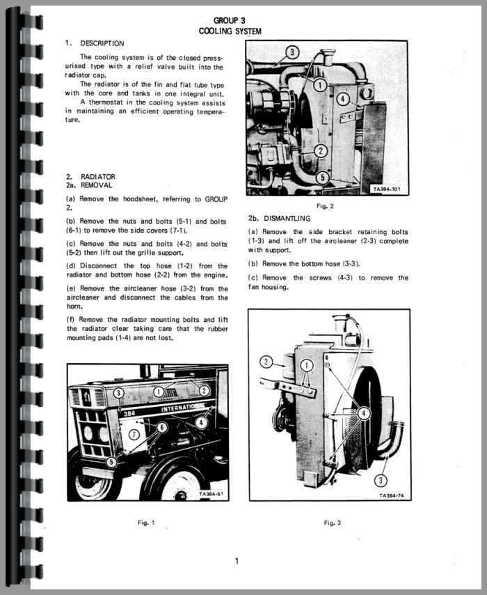 International 354 Tractor Wiring Diagram International