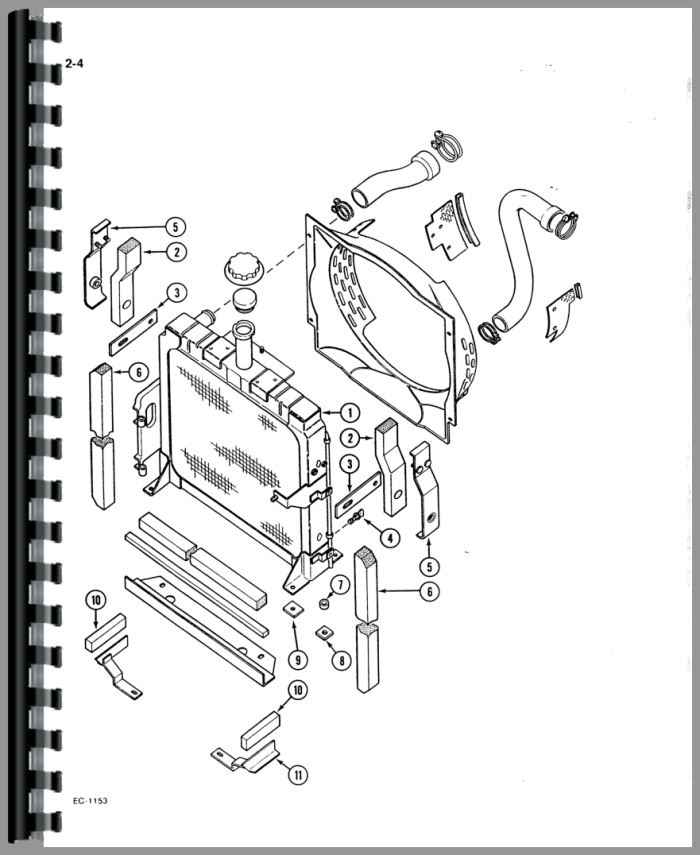 International Harvester 385 Tractor Parts Manual