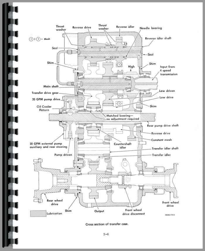 International Harvester 4166 Tractor Service Manual