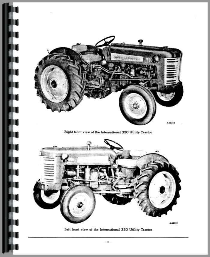 International Harvester 4410 Forklift Parts Manual