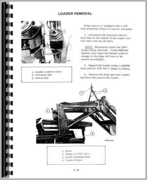 International Harvester 454 Tractor Service Manual